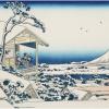北斎の描いた雪景色
