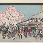 復刻版浮世絵 木版画展「はじまりの春に」