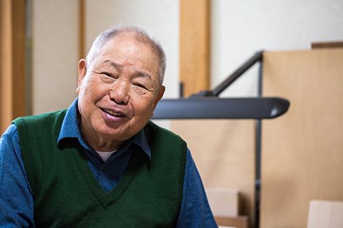 Hori-shi, Carving master, Mr. Shunzo Matsuda