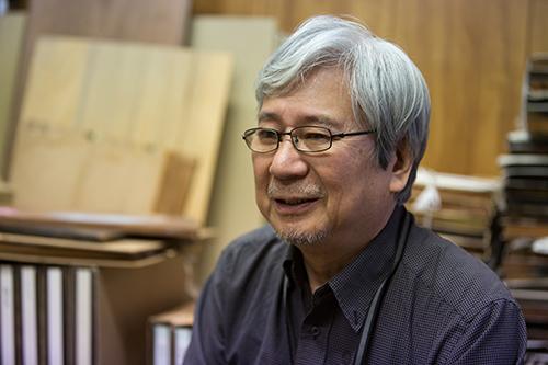 Suri-shi, Woodblock printing master Mr. Keizo Sato