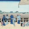 富士に引き寄せられた人たちの幸せな後ろ姿