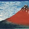 赤富士と黒富士、富士山の2つの顔を描き分けた北斎さん